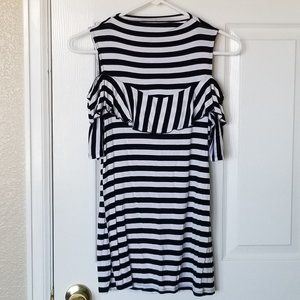 Project Runway Cold Shoulder Tunic
